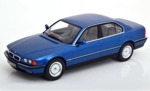 Bmw 740 1/18 KK Scale i (E38) metallic blue 1994 diecast