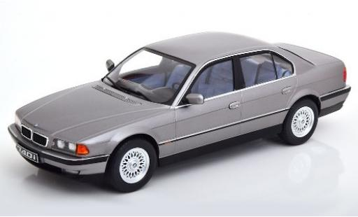 Bmw 740 1/18 KK Scale i (E38) metallic grey 1994 diecast