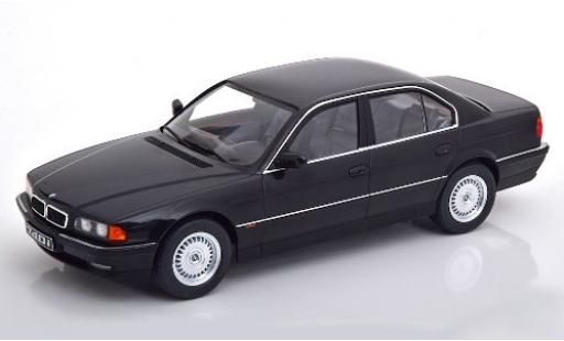 Bmw 740 1/18 KK Scale i (E38) metallic black 1994 diecast