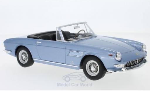 Ferrari 275 1/18 KK Scale GTS Pininfarina Spyder metallise bleue 1964 mit abnehmbarem Softtop miniature