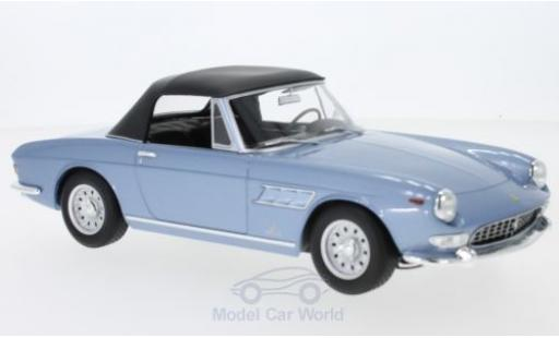 Ferrari 275 1/18 KK Scale GTS Pininfarina Spyder métallisé bleue Softtop liegt ein miniature