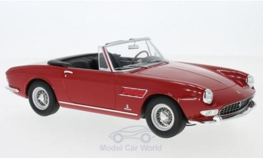Ferrari 275 1/18 KK Scale GTS Pininfarina Spyder rouge 1964 mit abnehmbarem Softtop miniature