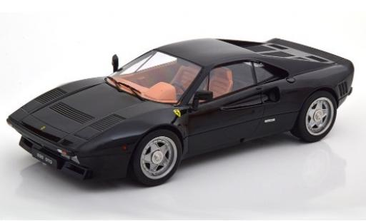 Ferrari 288 1/18 KK Scale GTO black 1984 diecast model cars