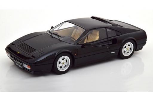 Ferrari 328 1/18 KK Scale GTB negro 1985 coche miniatura
