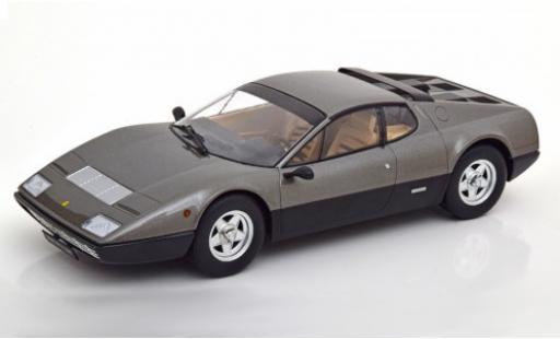 Ferrari 365 1/18 KK Scale GT4 BB metallise grau/schwarz 1973 modellautos