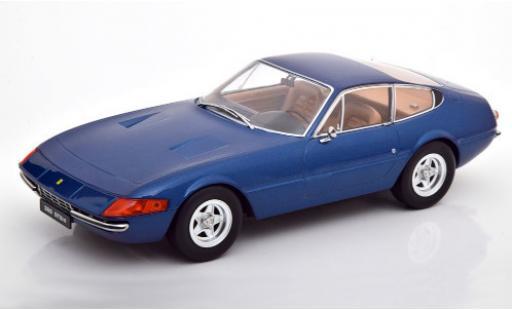 Ferrari 365 1/18 KK Scale GTB/4 Daytona (2a Serie) metallise blue 1971 diecast model cars