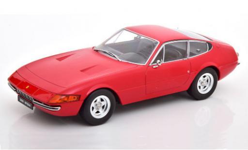 Ferrari 365 1/18 KK Scale GTB/4 Daytona (2a Serie) red 1971 diecast model cars
