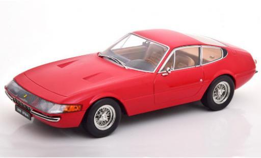 Ferrari 365 1/18 KK Scale GTB/4 Daytona rouge 1969 miniature