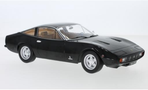 Ferrari 365 1/18 KK Scale GTC 4 black 1971 diecast model cars