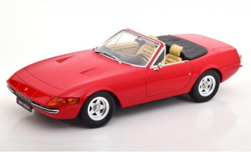 Ferrari 365 1/18 KK Scale GTS/4 Daytona Spider (2a Serie) red 1971 diecast model cars