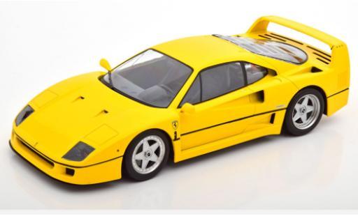 Ferrari F40 1/18 KK Scale amarillo 1987 coche miniatura