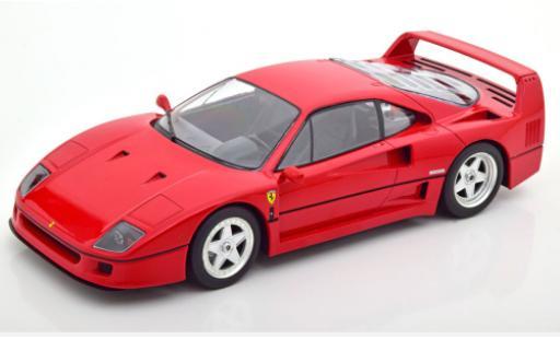 Ferrari F40 1/18 KK Scale red 1987 diecast model cars