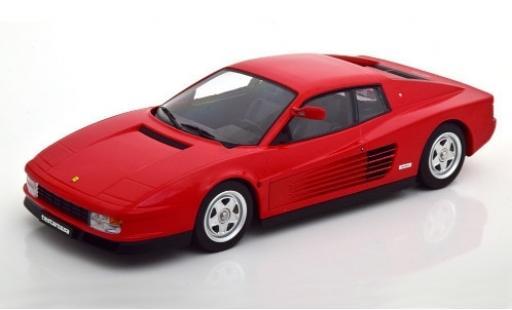 Ferrari Testarossa 1/18 KK Scale rojo 1984 Monospecchio coche miniatura
