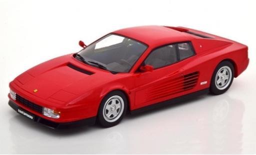 Ferrari Testarossa 1/18 KK Scale red 1986 diecast model cars
