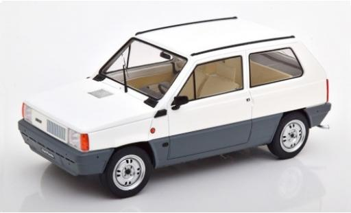 Fiat Panda 1/18 KK Scale 45 MK 1 blanco 1980 coche miniatura