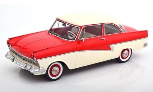 Ford Taunus 1/18 KK Scale 17M (P2) red/white 1957 diecast model cars