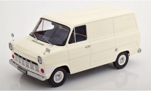 Ford Transit 1/18 KK Scale Mk1 Kasten white 1965 diecast model cars