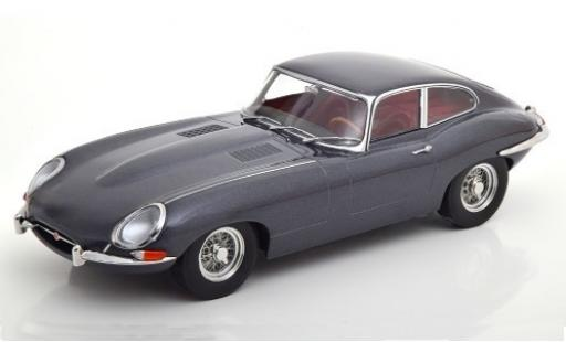 Jaguar E-Type 1/18 KK Scale Series I metallise grise 1961 miniature