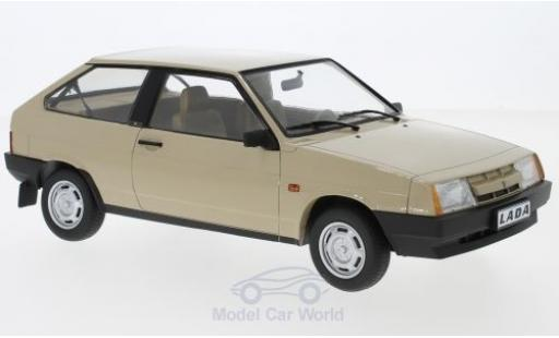 Lada Samara 1/18 KK Scale marron 1984 miniature