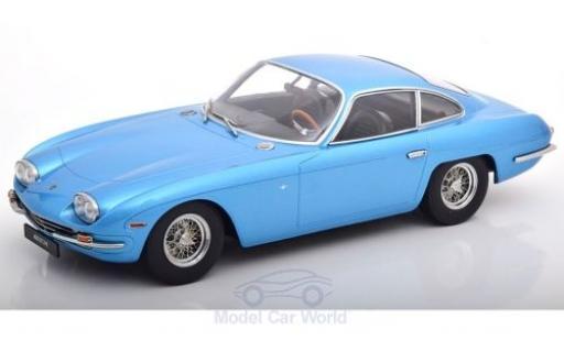 Lamborghini 400 GT 1/18 KK Scale 2+2 métallisé bleue 1965 miniature