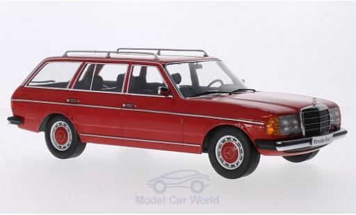 Mercedes 250 1/18 KK Scale T (S123) rouge 1978 Türen und Hauben sind nicht zu öffnen miniature