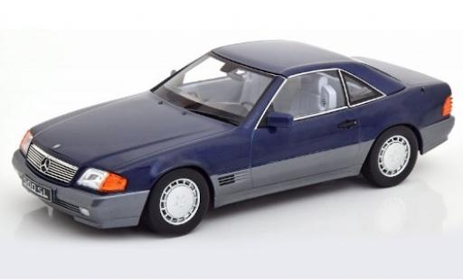 Mercedes 500 1/18 KK Scale SL (R129) metallise bleue 1993 miniature