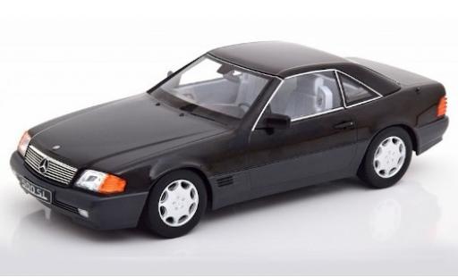 Mercedes 500 1/18 KK Scale SL (R129) metallise noire 1993 miniature