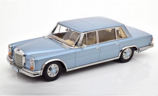 Mercedes 600 1/18 KK Scale (W100) metallise bleue 1963 miniature