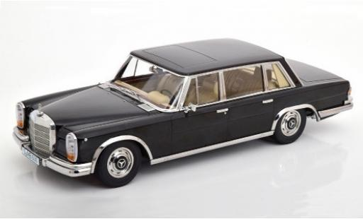 Mercedes 600 1/18 KK Scale (W100) black 1963 diecast model cars