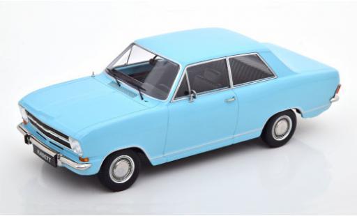 Opel Kadett 1/18 KK Scale B 1.2 bleue 1972 2-portes miniature