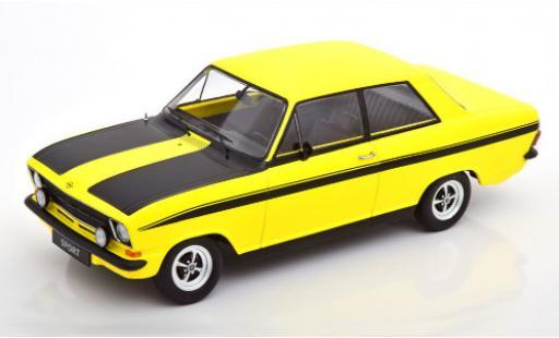 Opel Kadett 1/18 KK Scale B Sport jaune/matt-noire 1973 miniature