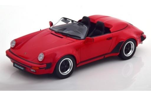 Porsche 930 Speedster 1/18 KK Scale 911 rouge 1989 miniature