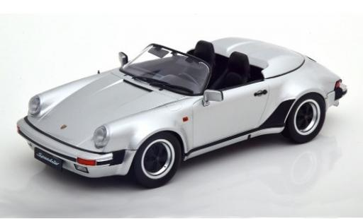 Porsche 930 Speedster 1/18 KK Scale 911 grise 1989 miniature