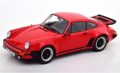 Porsche 930 Turbo 1/18 KK Scale 911 3.0  rouge 1976 miniature