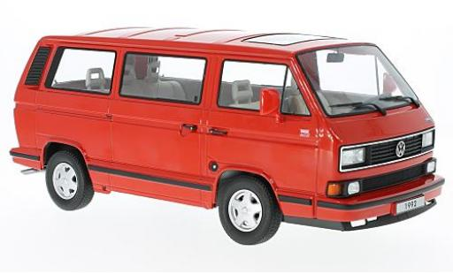 Volkswagen Bulli 1/18 KK Scale T3 Multivan red 1992 diecast model cars