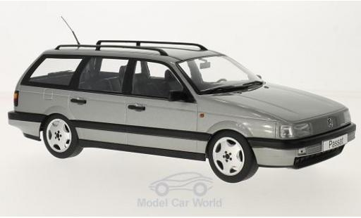 Volkswagen Passat 1/18 KK Scale (B3) Variant metallise grise 1988 miniature