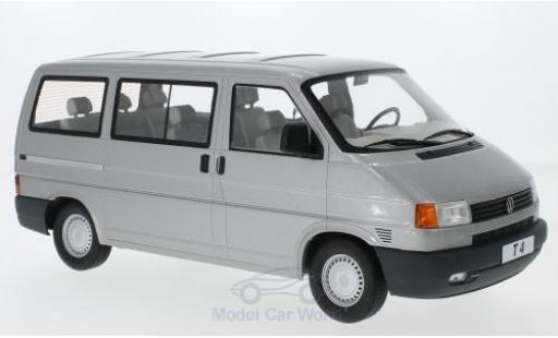 Volkswagen T4 1/18 KK Scale Caravelle métallisé grise 1992 miniature