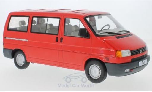 Volkswagen T4 1/18 KK Scale Caravelle rouge 1992 miniature