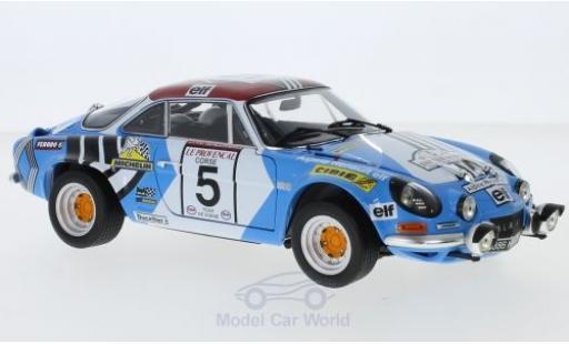 Alpine A110 1/18 Kyosho No.5 Tour de Corse 1973 J.F.Piot/J.De Alexandris modellino in miniatura