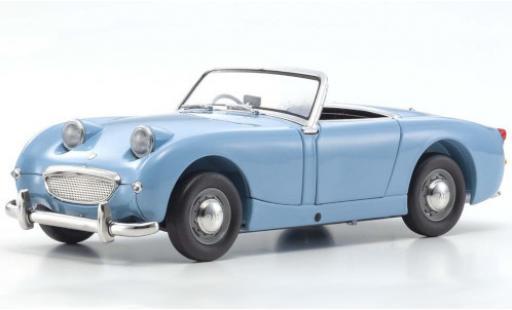 Austin Healey Sprite 1/18 Kyosho blue RHD diecast model cars