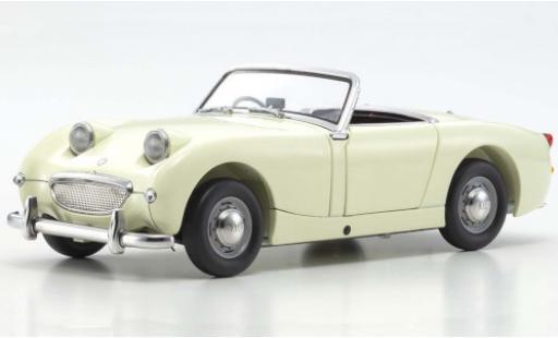 Austin Healey Sprite 1/18 Kyosho white RHD diecast model cars
