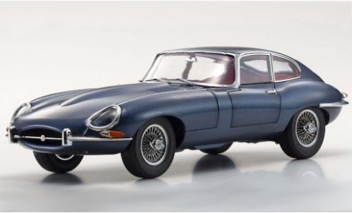 Jaguar E-Type 1/18 Kyosho Series I metallise blue RHD 1961 diecast model cars