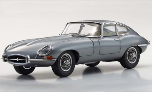 Jaguar E-Type 1/18 Kyosho Series I metallise grey RHD 1961 diecast model cars