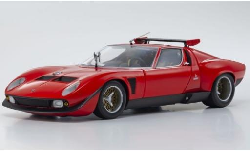 Lamborghini Miura 1/18 Kyosho SVR red/black diecast model cars