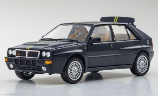 Lancia Delta 1/18 Kyosho HF Integrale Evoluzione II Club Hi-Fi bleue/Dekor 1992 miniature