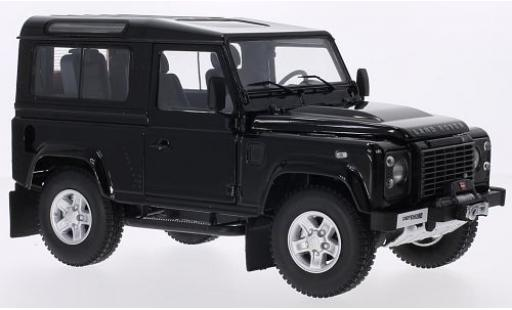 Land Rover Defender 1/18 Kyosho 90 metallise black diecast model cars