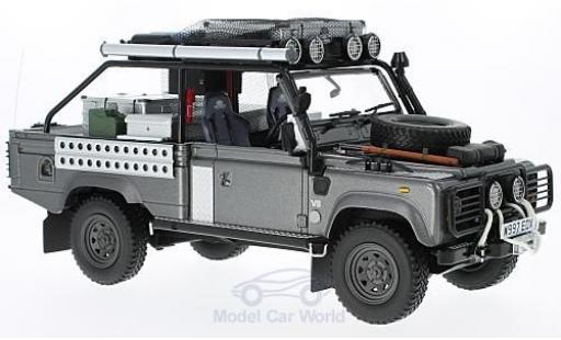 Land Rover Defender 1/18 Kyosho metallic-dunkelgris RHD Movie Edition miniatura