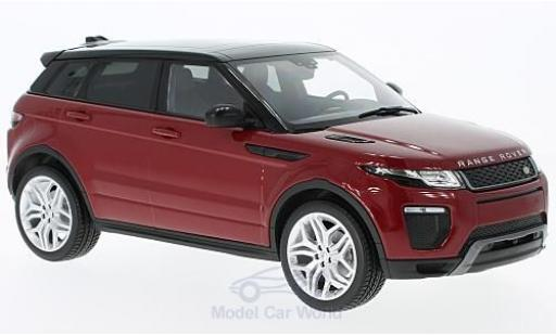 Land Rover Range Rover 1/18 Kyosho Evoque HSE Dynamic Lux red diecast model cars