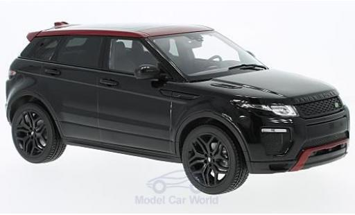 Land Rover Range Rover 1/18 Kyosho Evoque HSE Dynamic Lux black diecast model cars