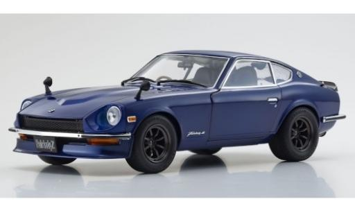 Nissan Fairlady Z 1/18 Kyosho (S30) metallise blue RHD 1970 diecast model cars